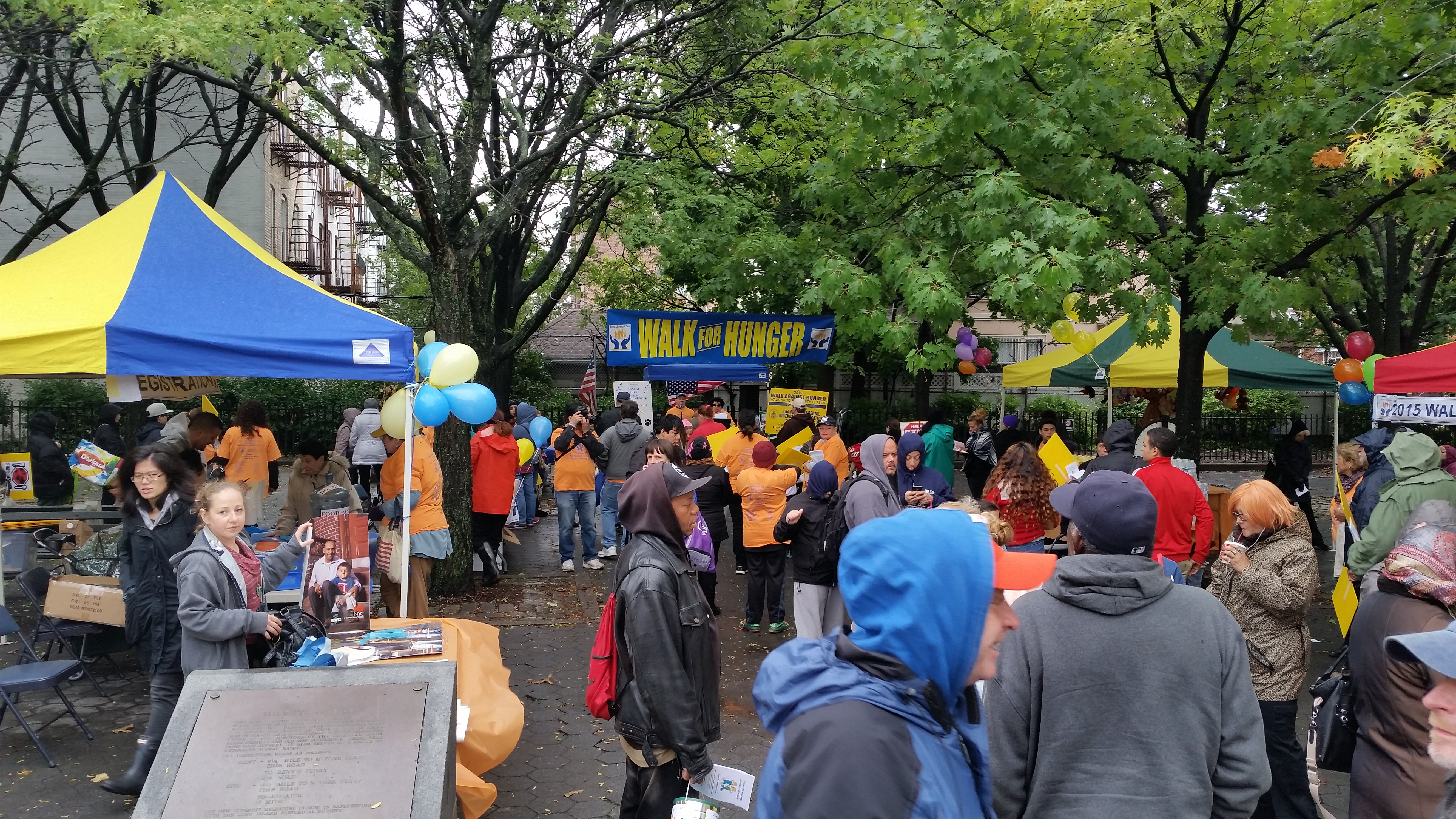 Annual Walk Against Hunger Reaching Out Community