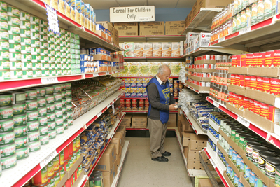 food pantry brooklyn supermarket style client choice food
